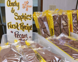 Andy's Candies Famous Pecan Bar